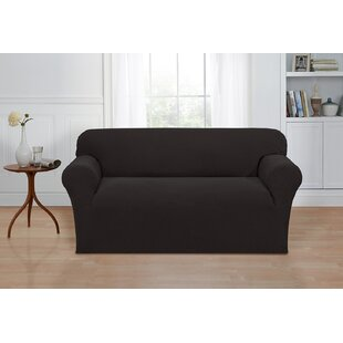 Box Cushion Loveseat Cover by Ebern Designs