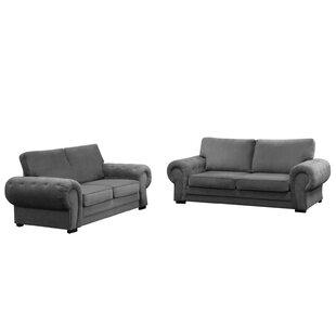 Derrynisk 2 Piece Sofa Set By Rosalind Wheeler