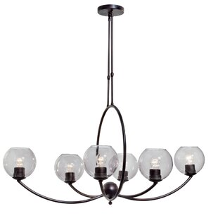 Brayden Studio Brandi 6-Light Shaded Chandelier
