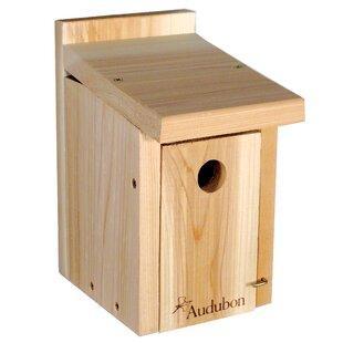 Woodlink Audubon Cedar 11 in x 7 in x 6 in Birdhouse