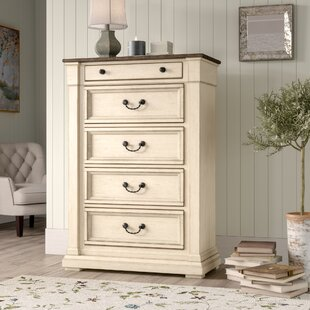 Alsace 5 Drawer Chest by Lark Manor