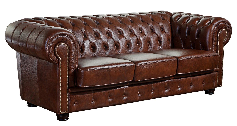 max winzer 3 sitzer sofa norwin aus leder. Black Bedroom Furniture Sets. Home Design Ideas