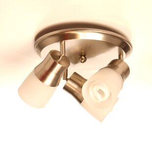 Check Prices 3-Light Semi Flush Mount Spot Light By Symple Stuff