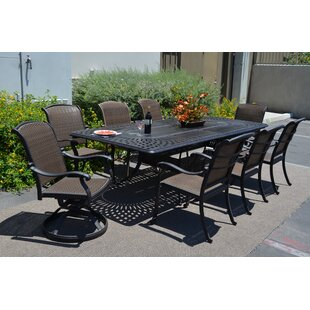 Darby Home Co Adela 9 Piece Dining Set