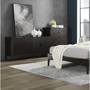 Cypress 3 Drawer Double Dresser by Greenington