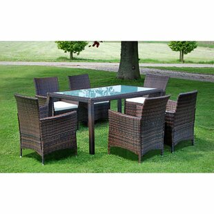 Cole 6 Seater Dining Set With Cushions Image