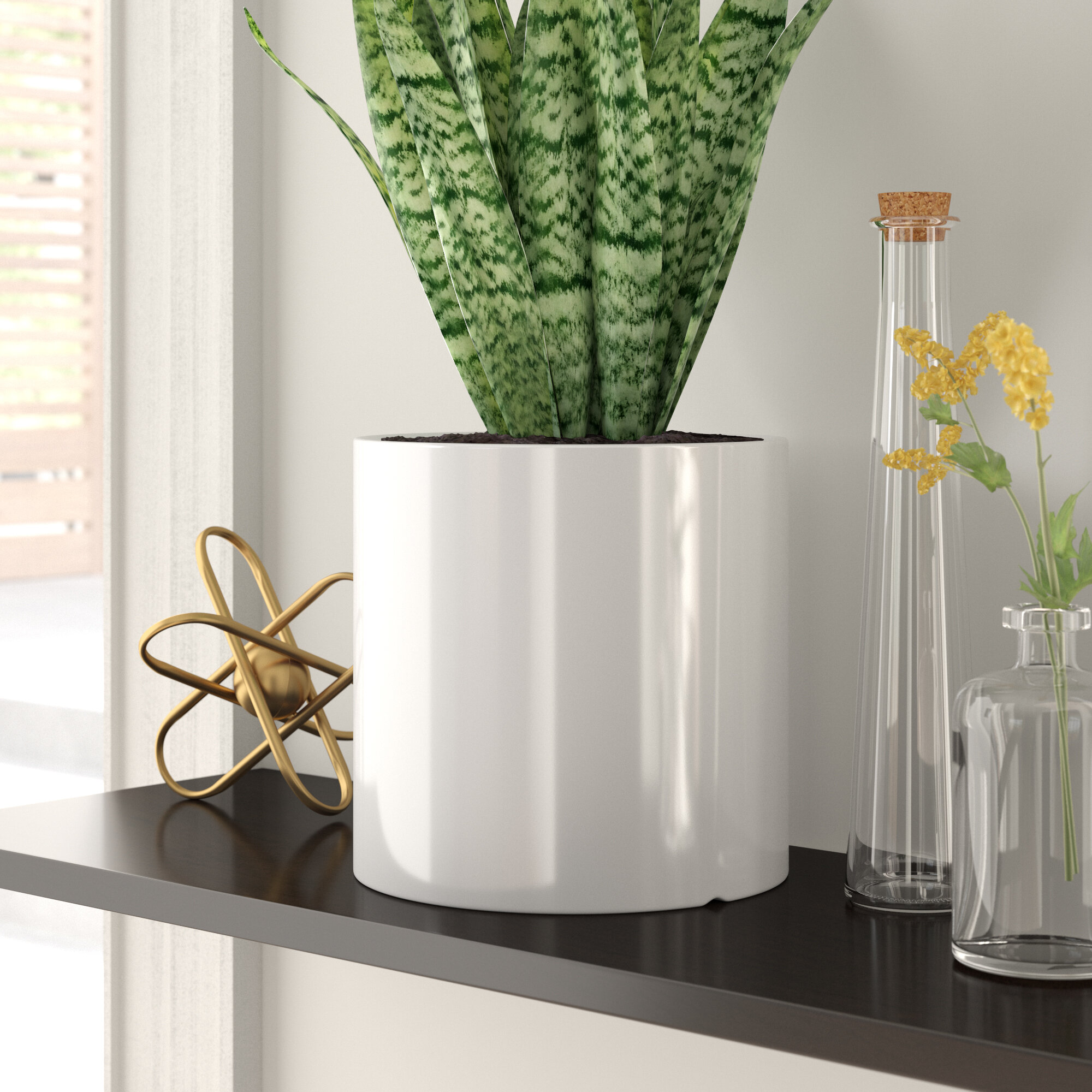 Zipcode Design Alida Desk Top Ceramic Pot Planter Reviews Wayfair