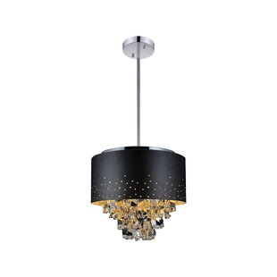 Carmella 6-Light Chandelier By CWI Lighting