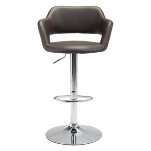 Sorrel Adjustable Height Bar Stool Orren Ellis