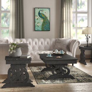 Martiques 3 Piece Coffee Table Set