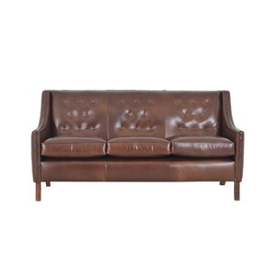 Woburn Genuine Top Grain Leather Sofa by Wes..
