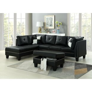 Farview Sectional With Ottoman by Red Barrel Studio Great Reviews