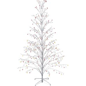 christmas tree outdoor christmas decorations youll love wayfair - White Outdoor Christmas Tree