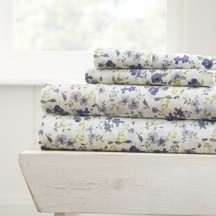 Gaia Premium Ultra Soft Blossoms Pattern Sheet Set