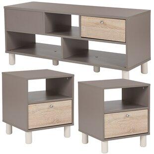 Ebern Designs Oz 3 Piece Coffee Table Set
