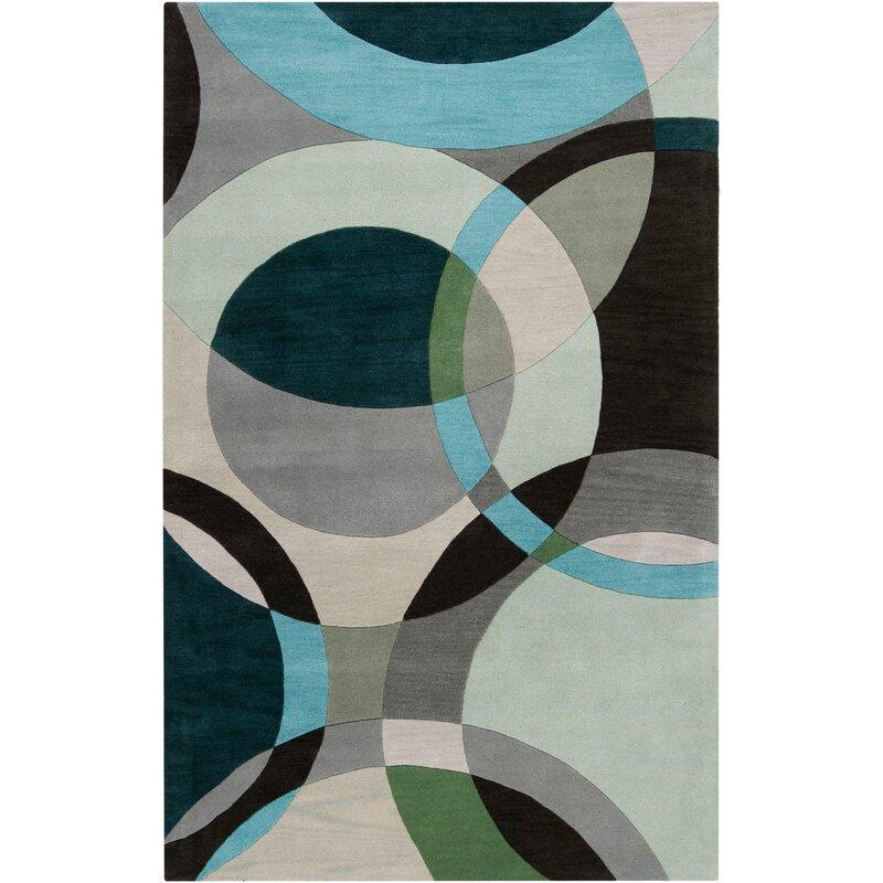 Ebern Designs Dewald Abstract Handmade
