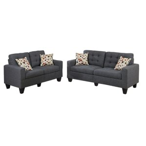 Good Amia 2 Piece Living Room Set