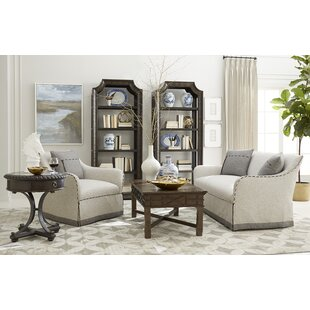 Cohn Leather Standard Configurable Living Room Set By Darby Home Co