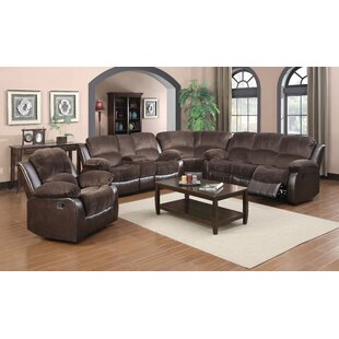 Glory Furniture Coco Reclining Sectional
