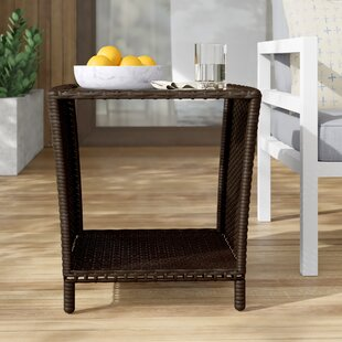 Caro Glass Side Table