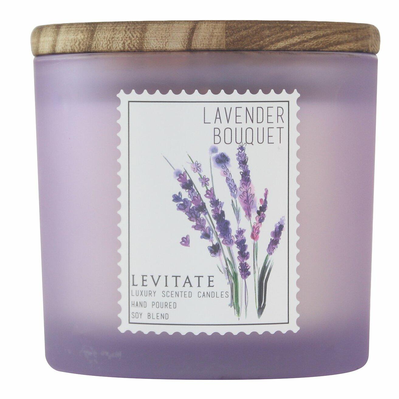 Levitatecandles Lavender Bouquet Scented Jar Candle Reviews Wayfair