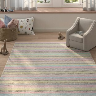 Affordable Sardis Hand-Woven Light Gray Area Rug By Harriet Bee