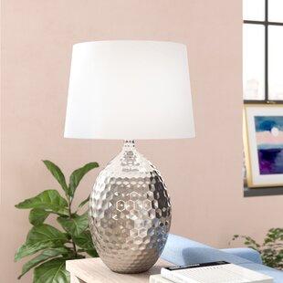 Savings Bridgers 28.5 Table Lamp By Mercury Row