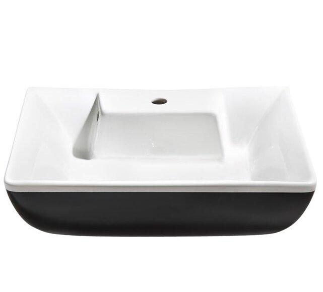 Fresca Moselle Ceramic Rectangular Vessel Bathroom Sink With Overflow Wayfair