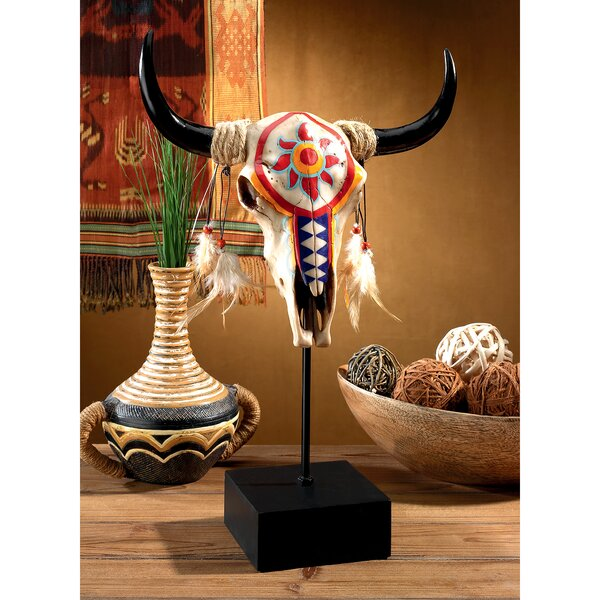 fdb2b277 Cow Skull Lamp | Wayfair
