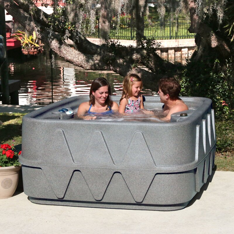 404a224ab15 The lightweight design and rectangular shape make this portable spa a great  addition to your home. See more  AquaRest Spas Hot Tubs ...