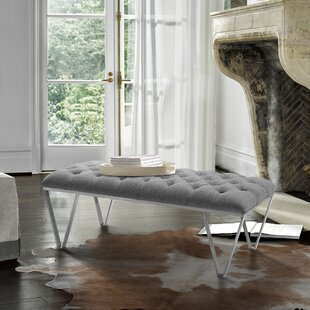 Klar Contemporary Tufted Bench