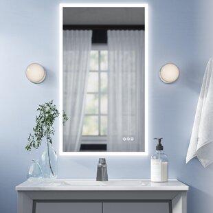 Bathroom Vanity Rectangle Mirrors Free Shipping Over 35 Wayfair