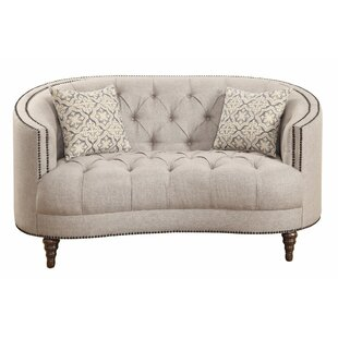 DeVecchi Loveseat by One Allium Way Spacial Price