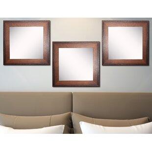 Great Price Truex Wall Mirror (Set of 3) ByMillwood Pines