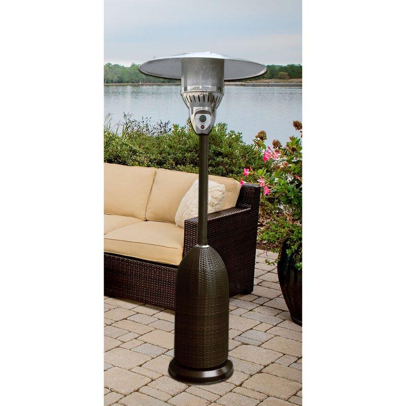 Hanover round wicker 41000 btu propane patio heater reviews wayfair round wicker 41000 btu propane patio heater workwithnaturefo