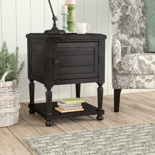 Fargo End Table With Storage Laurel Foundry Modern Farmhouse