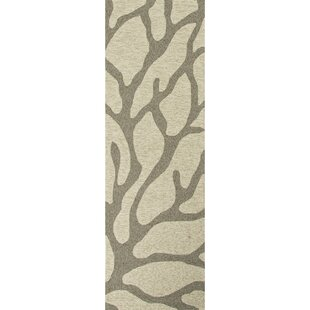 Ismene Ivory/Grey Indoor/Outdoor Area Rug By Highland Dunes