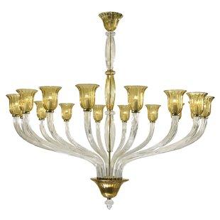 Cyan Design Vetrai 16-Light Shaded Chandelier