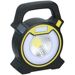 Rapheale Working Light 250 Lumens - 5 Functions - With Power Indicator - Emergency Flasher - On Batteries - 13X4.5X17cm By Sol 72 Outdoor