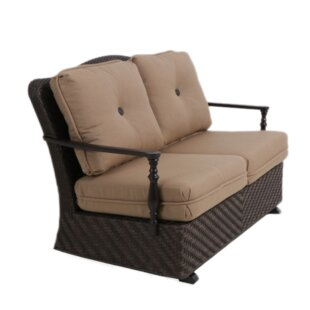 Bungalow Glider Bench with Cushion