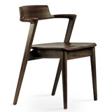 Paola Solid Wood Dining Chair by Industrial Modern