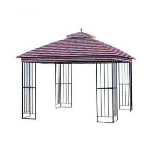 Easy Up Steel Gazebo Replacement Canopy By Garden Winds