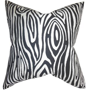 Thirza Swirls Cotton Throw Pillow