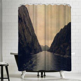 Best Reviews Follow Your Heart Shower Curtain ByEast Urban Home