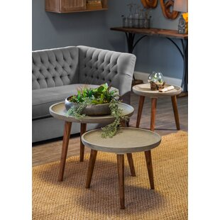 Best Price Nelya 3 Piece End Table Set by 17 Stories