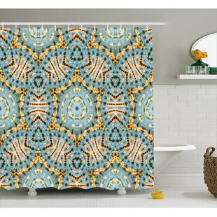 Best Reviews Tribal Pattern Decor Shower Curtain By East Urban Home