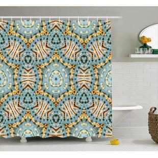 Bargain Tribal Pattern Decor Shower Curtain ByEast Urban Home