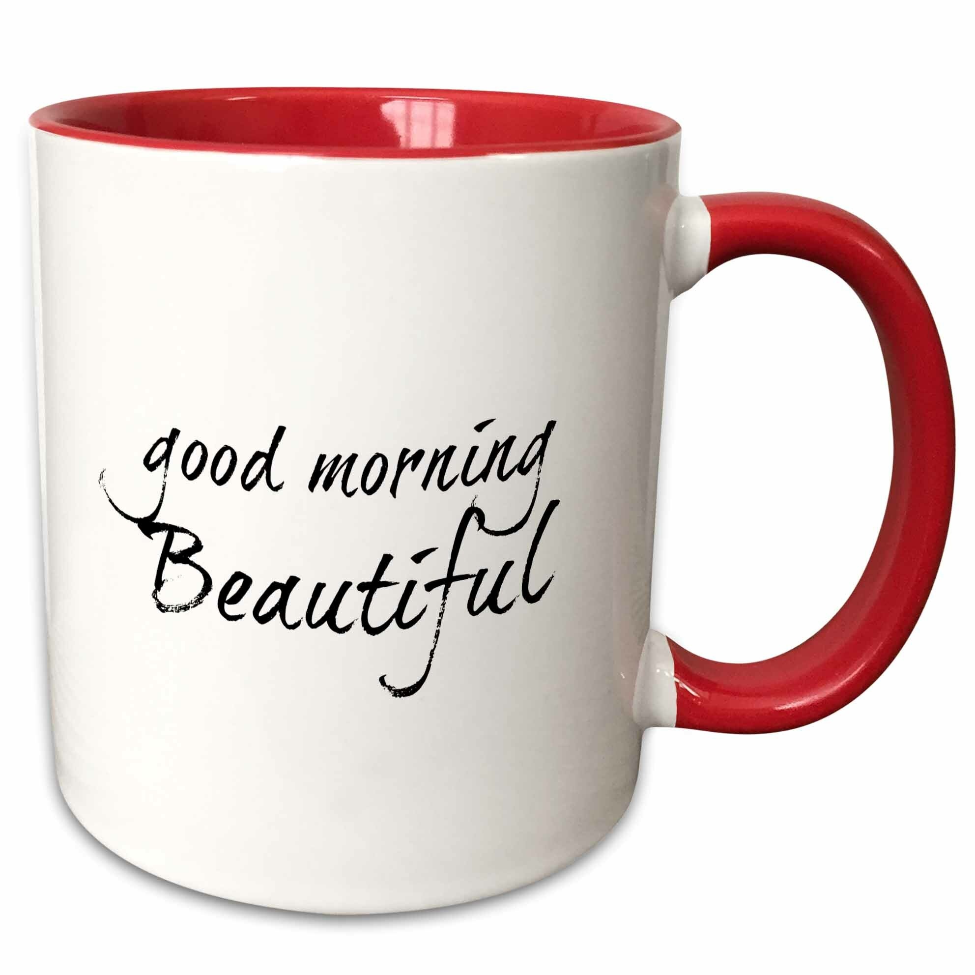 Leisa Good Morning Beautiful Coffee Mug