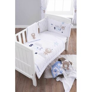 Little Star 3 Piece Cot Bedding Set