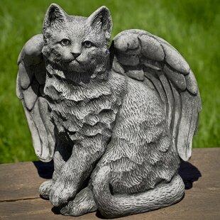 Campania International Angel Kitty Statue